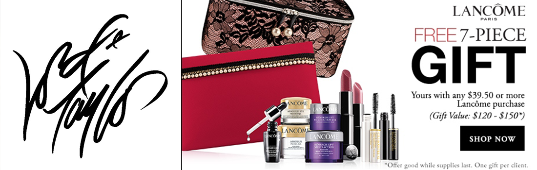 DMYG Lancome Gift with Purchase - Lord and Taylor banner